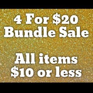 Dresses & Skirts - 4 For $20 Bundle Sale